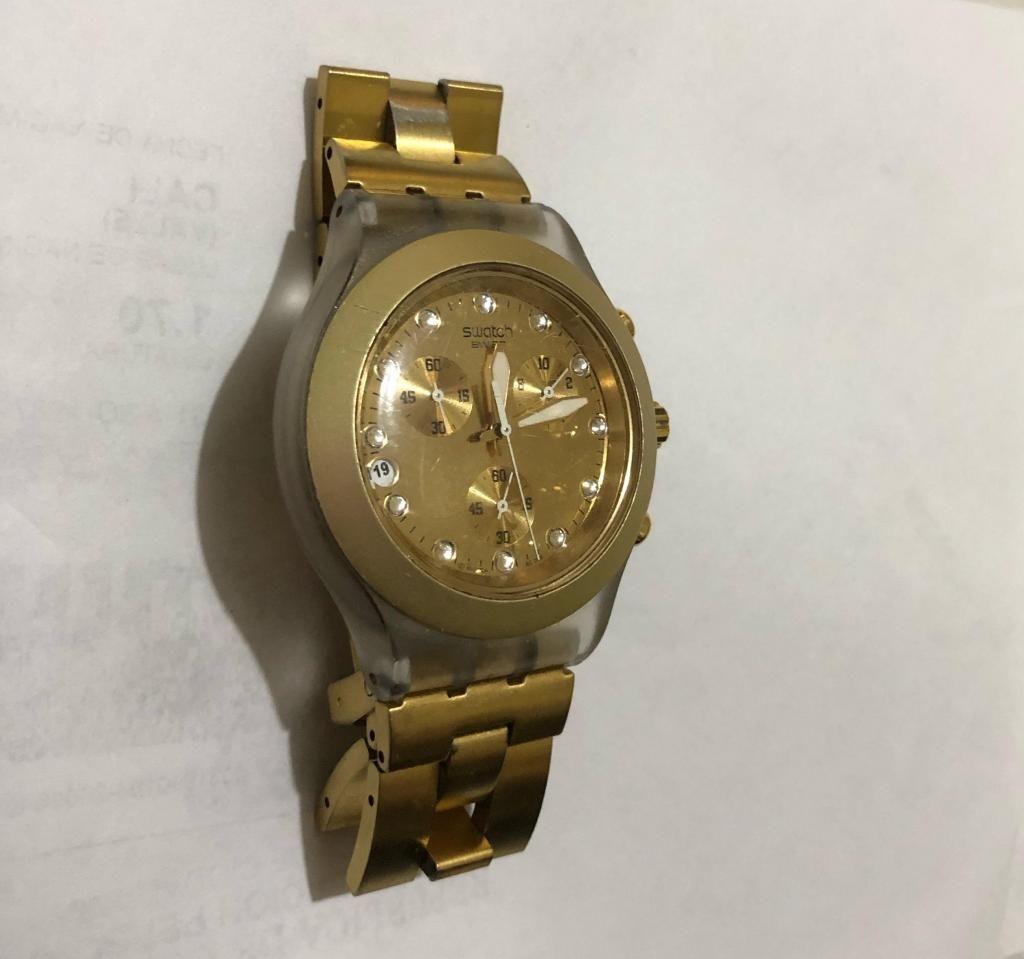 Dorado Reloj Reloj Cali Swatch Swatch Original EDH2Y9IWbe