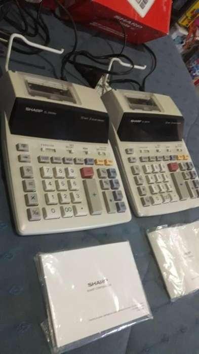 Calculadoras Sharp El-2901rh Impresión Dos Colores Para Repuestos