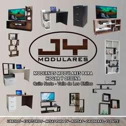 Escritorios mesas PC Laptop listas de entregar. estantes, librero, JY Modulares, muebles
