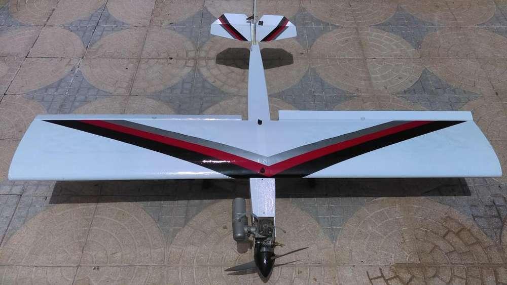 avion aeromodelo a gasolina nuevo. completo. ganga! tel: 3217455594