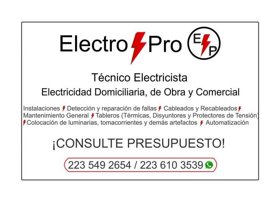 Electricista Mar del plata ElectroPro Mdq