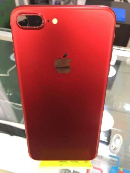 iPhone 7 Plus de 128 Gb Rojo en Buen Std