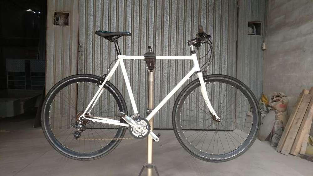 Bicicleta Rod .28 Tipo Fixie con 21 Vel.