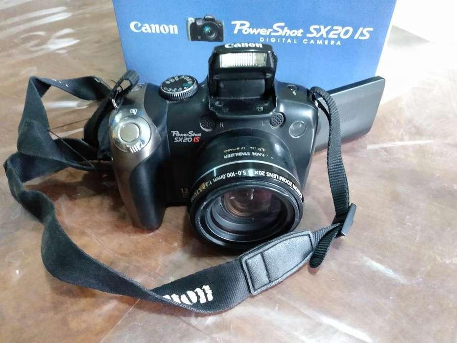 Vendo Camara Canon Sx20is