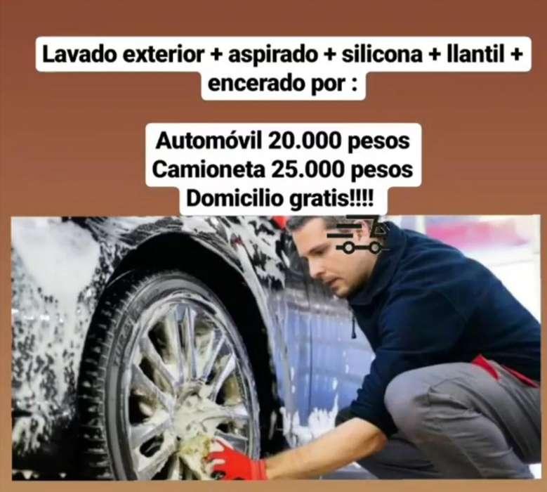 Lavamos Tu Carro a Domicilio!!!