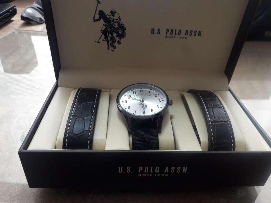 Reloj U.S. Polo ASSN. Negro