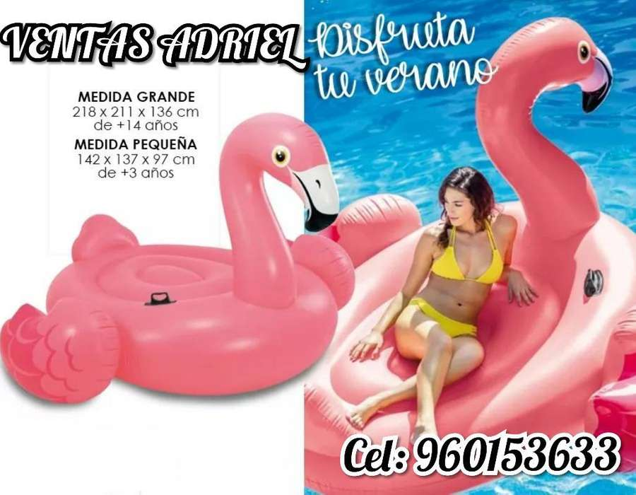 Flotador Flamenco para Adultos Playa