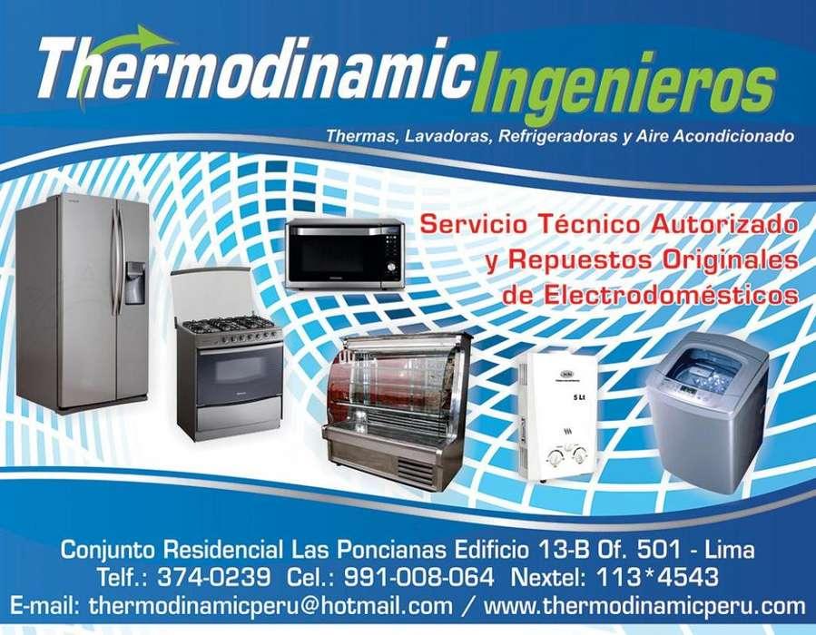 Servicio técnico de Lavadoras, refrigeradoras, termas, cocinas, Con tecnicos de confianza 981134543 CHICLAYO