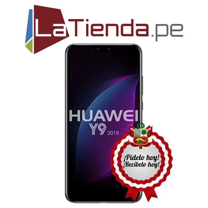 Huawei Y9 2019 carga rápida