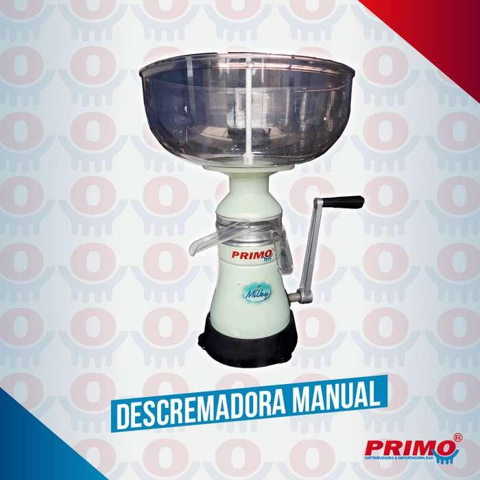 Descremadora de leche manual Milky 85 Litros