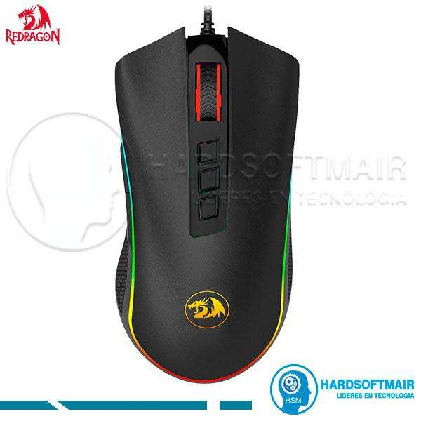 MOUSE GAMER REDRAGON M711 FPS COBRA LED RGB 24000 DPI