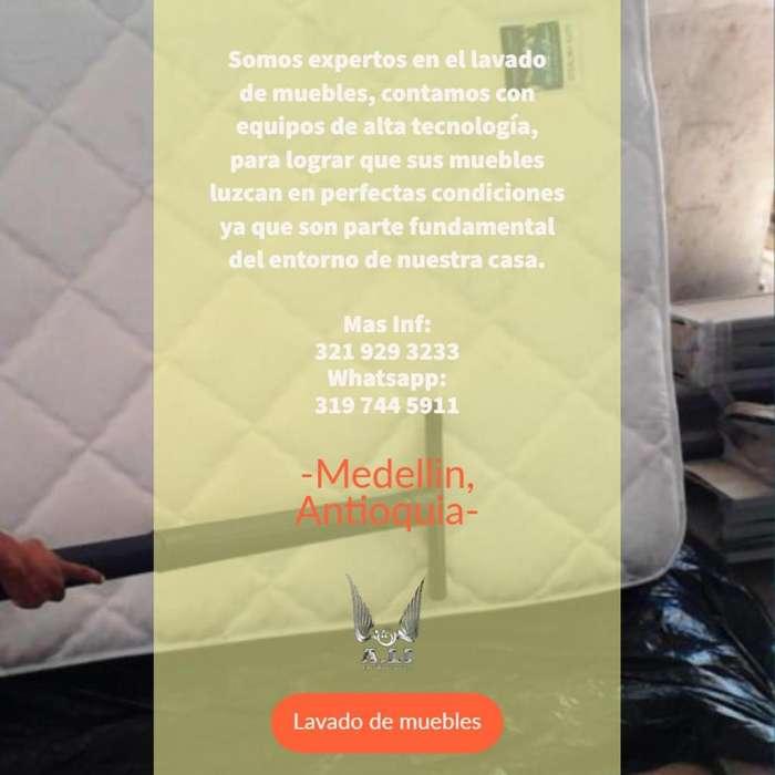LAVADO DE MUEBLES A DOMICILIO MEDELLIN