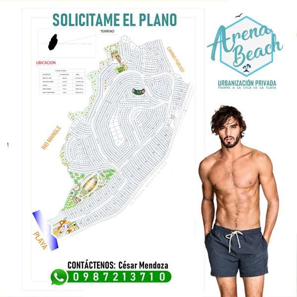 URBANIZACIÓN ARENA BEACH proyecto exclusivo Frente al Mar A tan solo 35 minutos de Manta SD1