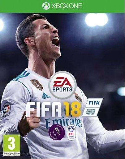 VENDO FIFA 18 XBOX ONE FISICO! IMPECABLE