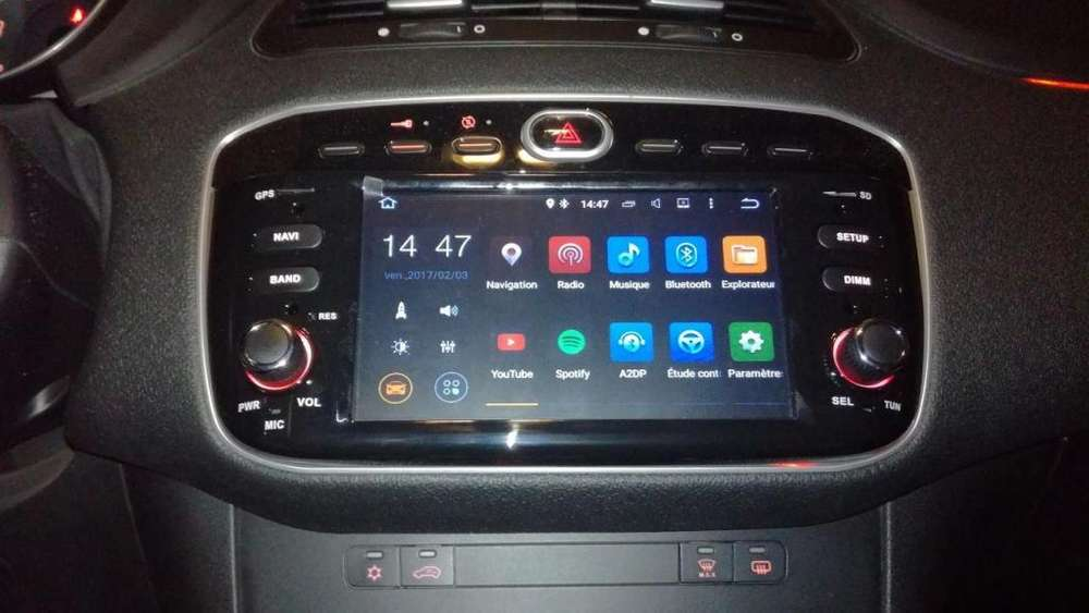 <strong>fiat</strong> LINEA Estereo CENTRAL MULTIMEDIA STEREO PANTALLA Gps Android Bluetooth