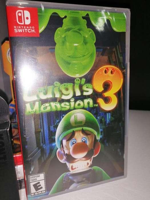 Luigi Mansion 3 Switch