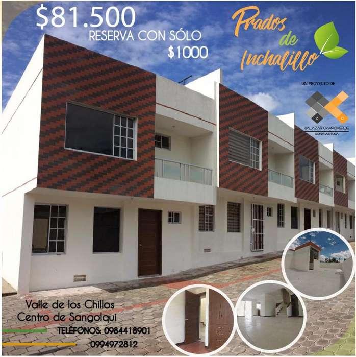 ÚLTIMAS 2 Casas de 106 m² con terraza accesible, Sangolquí Centro Urbano (Zona 100% Segura) 81,500