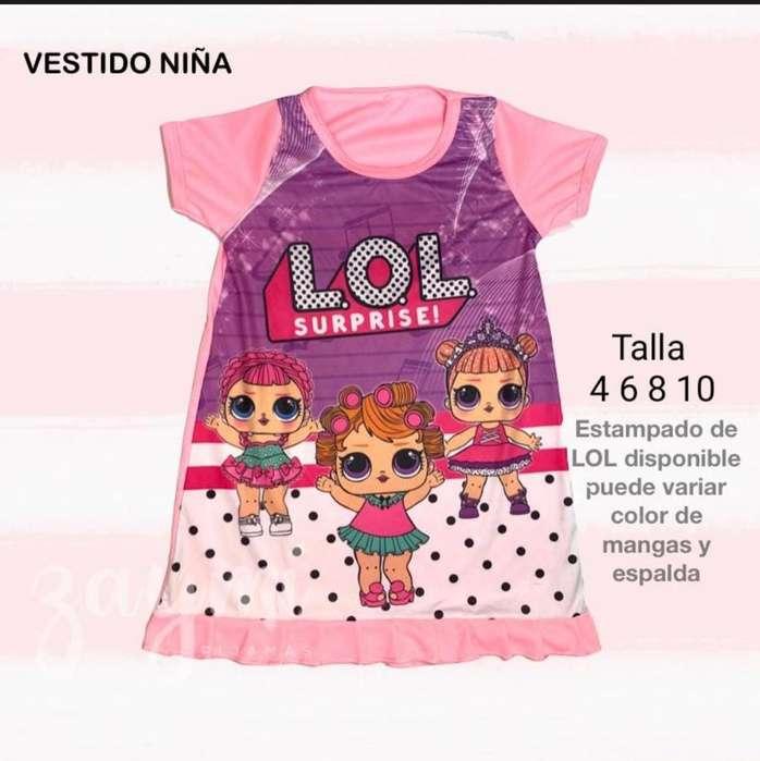 Pijama Zaimy para Niña Y Niño