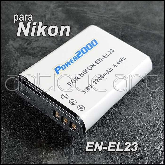 A64 Bateria Para Nikon En El23 Coolpix P600 P610 P700 S810c