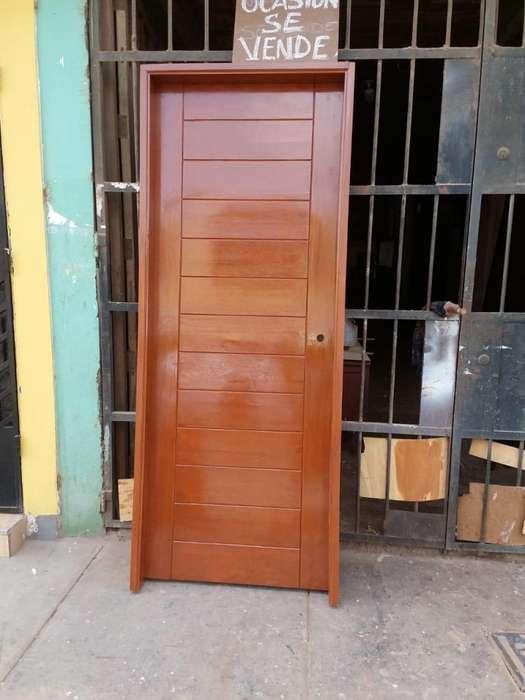 Vendo Puerta de madera 0.86x2.15m