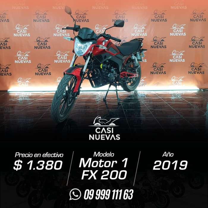 Motocicleta Motor 1 FX 200