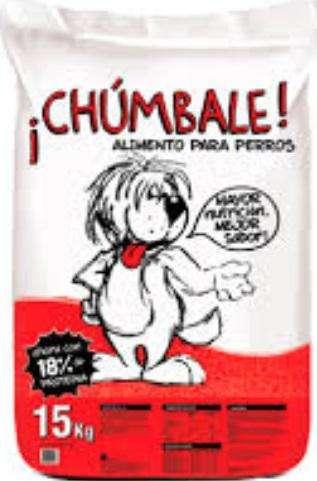 Alimento Perro Adulto CHUMBALE – x 15 kg