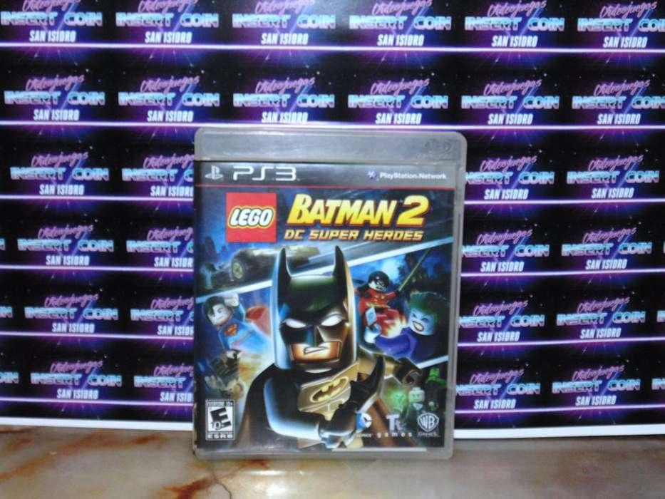 Lego Batman 2 PS3 Juego Play Station 3