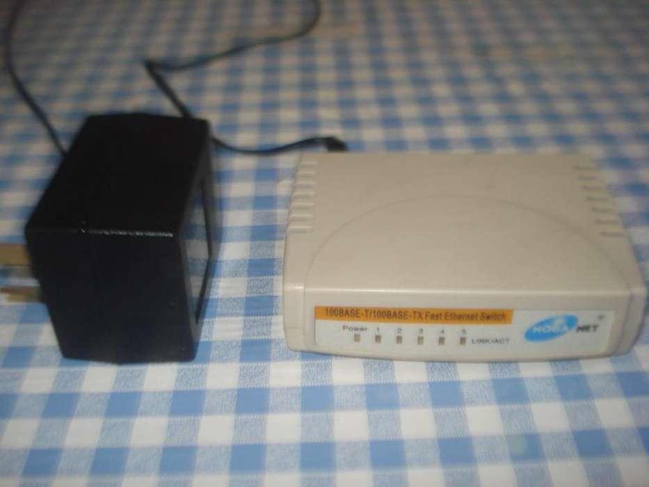 Switch Noganet C/transfo Teh 500sk No Inhalambrico