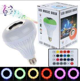 Bombillo Led Musical Bluetooth