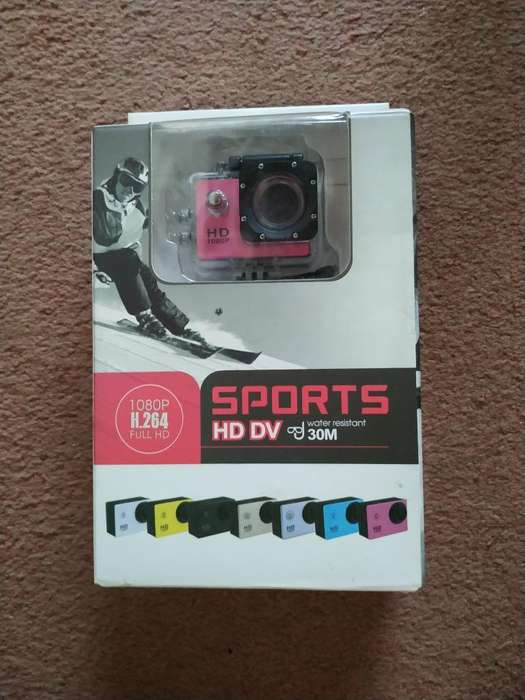 Camara Sumergible Sports Hd