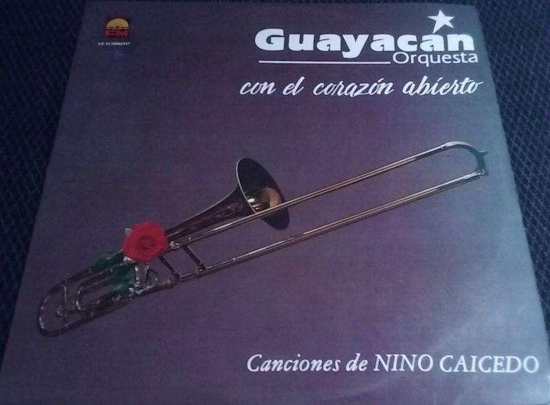 Long Play o vinilo de Salsa Guayacán Orquesta Con el Corazón Abierto Tenemos otros.