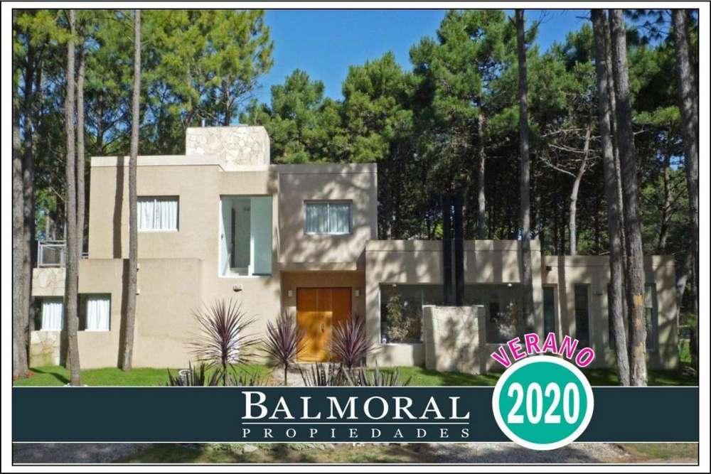 Ref: 8799 - Casa en alquiler - Pinamar Norte, Zona: Norte Tennis Ranch