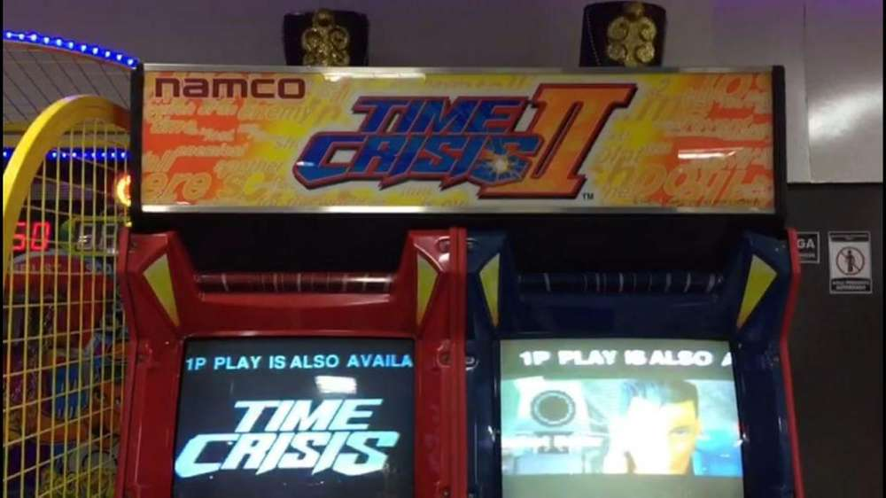 Maquina Video Juegos Time Crisis Ii Simulador Maquinitas