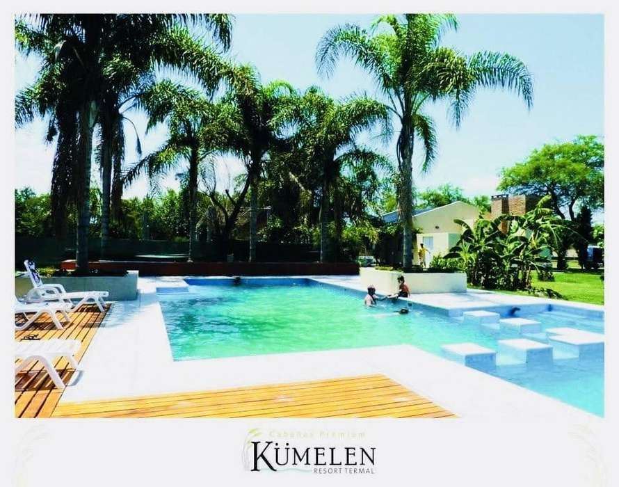 rt91 - Resort para 2 a 6 personas con pileta y cochera en Termas De Rio Hondo