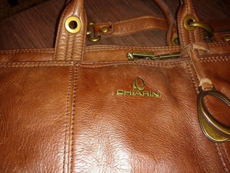 <strong>cartera</strong> maletin Cuero Chiarini