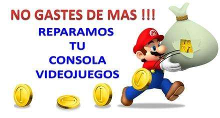 CONSOLA PS2 PS3 SERVICIO TECNICO TOTAL