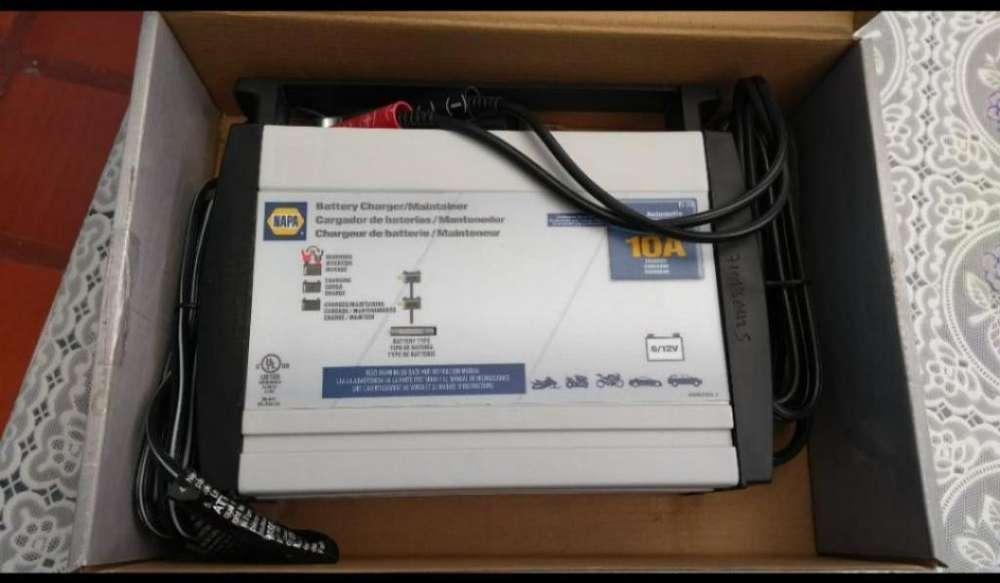 Cargador Electrónico Batería Vehículos