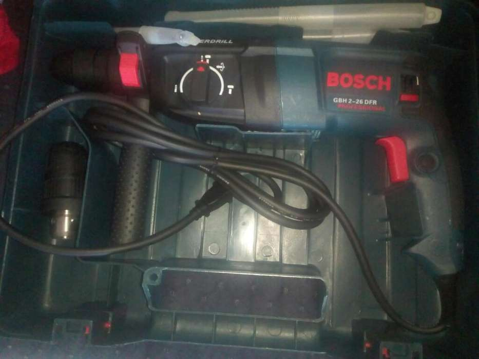 Roto Martillo Bosch Doble Mandrill