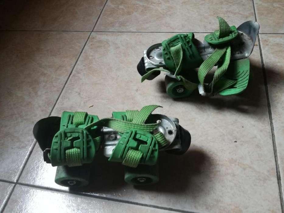 Vendo patines de nio