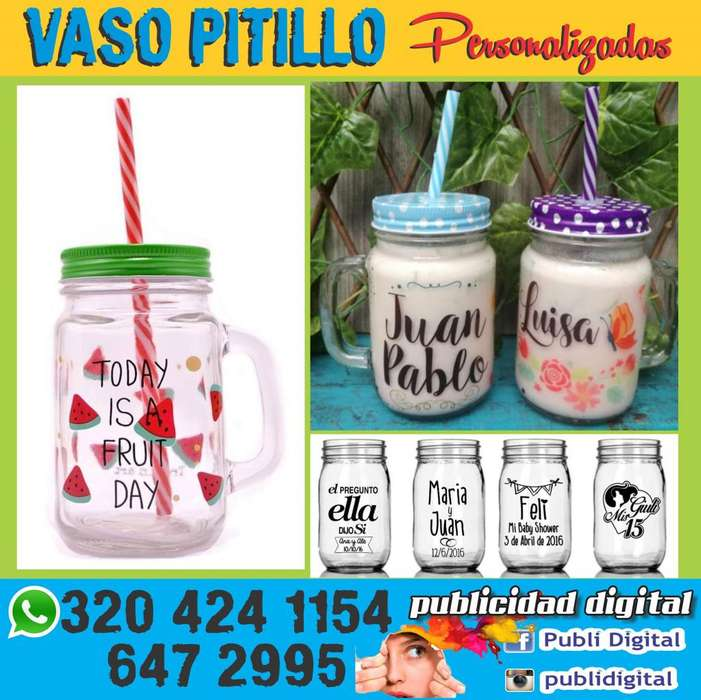 Mugs Vaso Pitillo
