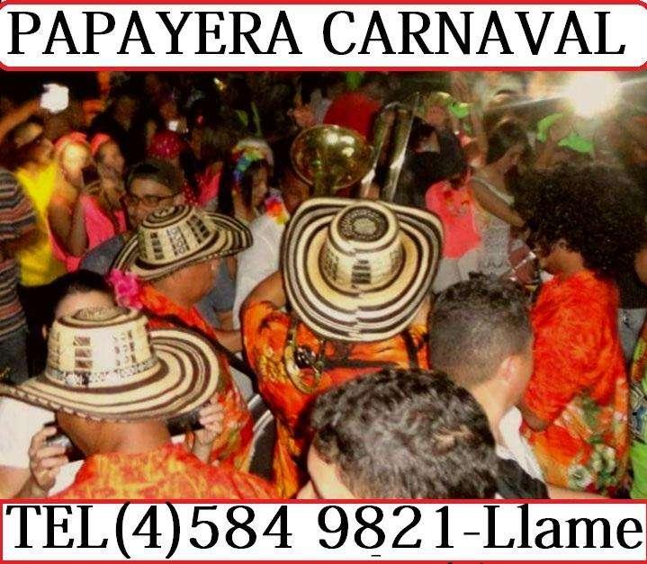 Papayera y Chirimia Carnaval en Medellin Y Toda Antioquia