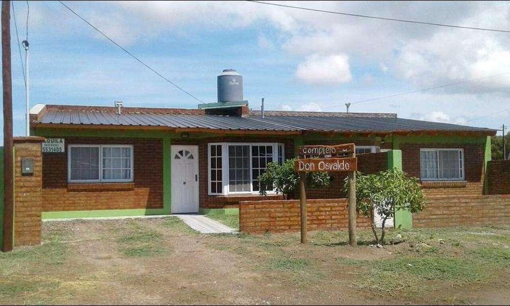 hd11 - Cabaña para 4 a 7 personas con cochera en Bahia San Blas