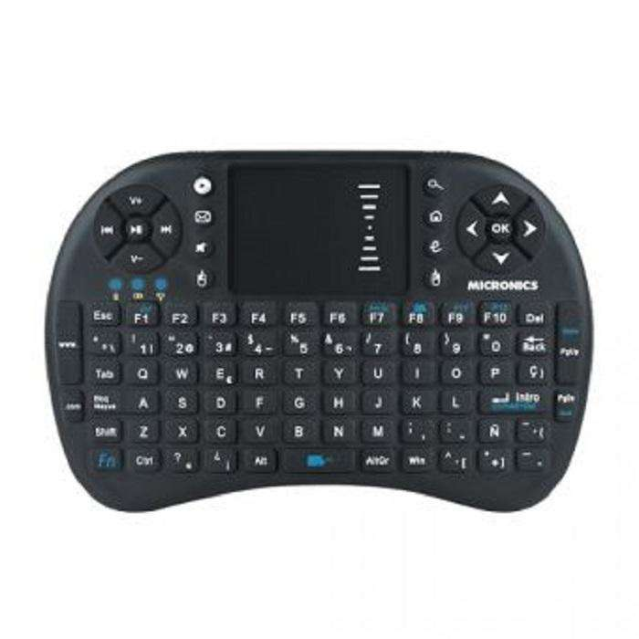 Mini Teclado Touch Inalámbrico Mic K300 Android, Smart Tv