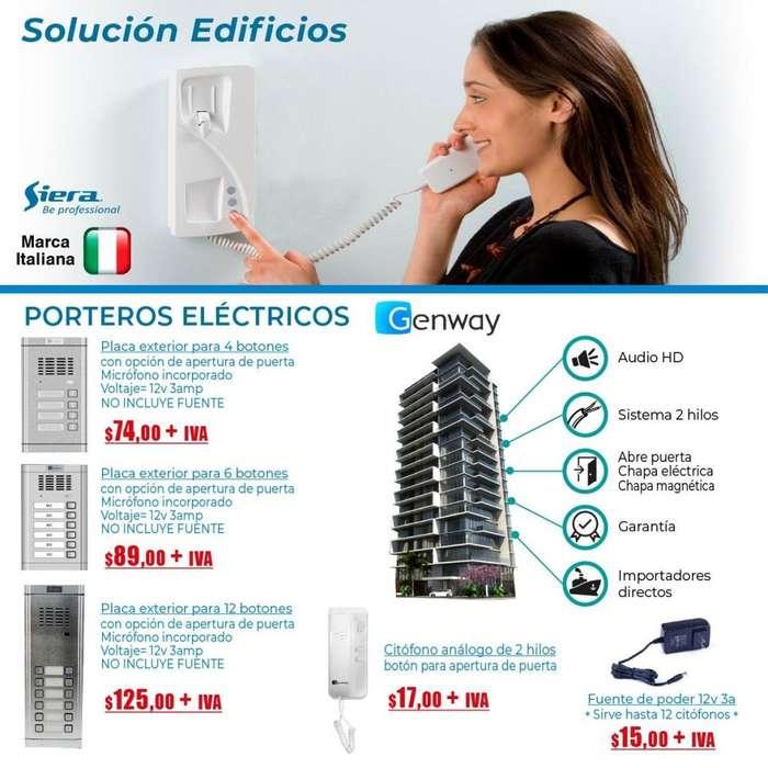 CITOFONO GSM 7 CITOFONO PARA EDIFICIO / GENWAY /COITOFONO SIMPLE