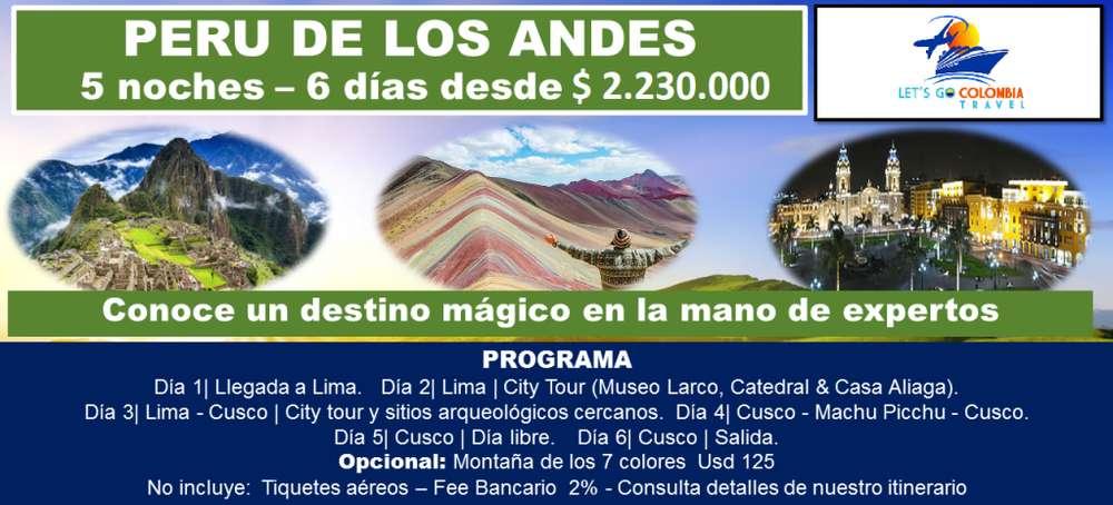 Perú de los Andes
