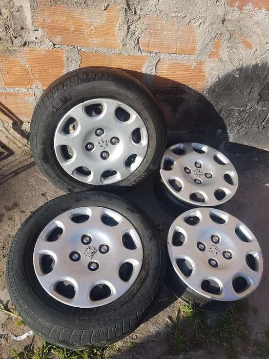 2 Cubiertas Pirelli 4 <strong>llanta</strong>s 4 Tazas
