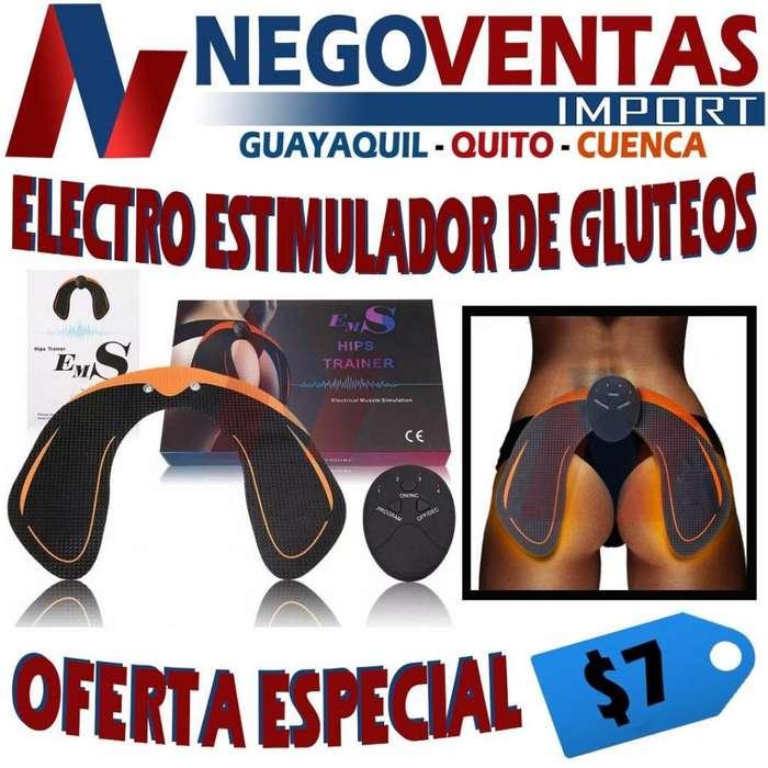 ELECTROESTIMULADOR TONIFICADOR DE GLUTEOS