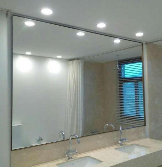 Espejos Elegantes Puertas Vidrio Templad