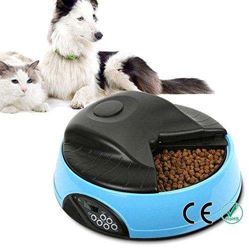 Comedero Electrónico y Automático Programable 4 Comidas Día Perros Y <strong>gato</strong>s