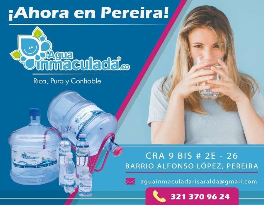 Venta de Agua Potable en Garrafones